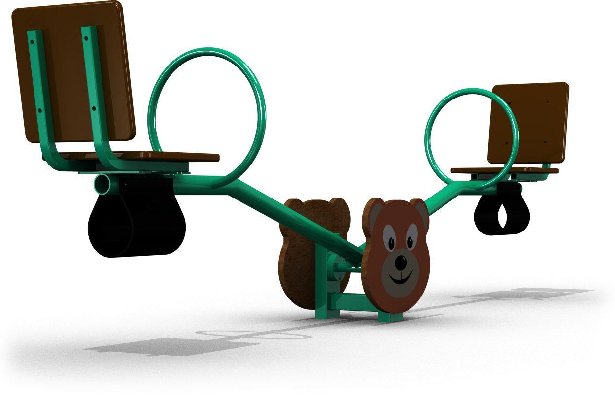 Детская качалка-балансир МИШКА