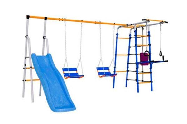 Детский спортивный комплекс для дачи «Веселая площадка»